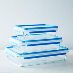 Glass Oven & Freezer-Safe Storage Containers