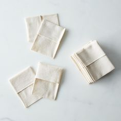 Reusable Organic Fabric Tea Bags (Set of 20)