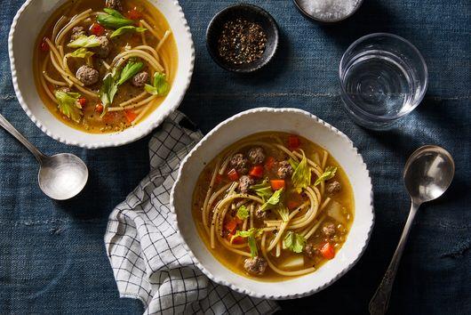 Sopa a La Minuta (Peruvian 'Minute Soup')