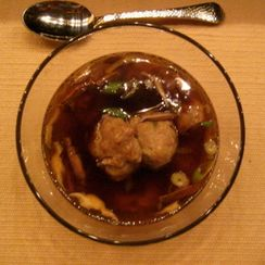 Meat-so ball soup