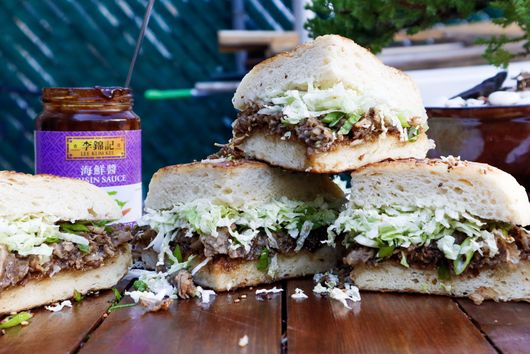 Chinese Five Spiced Beef Sandwich