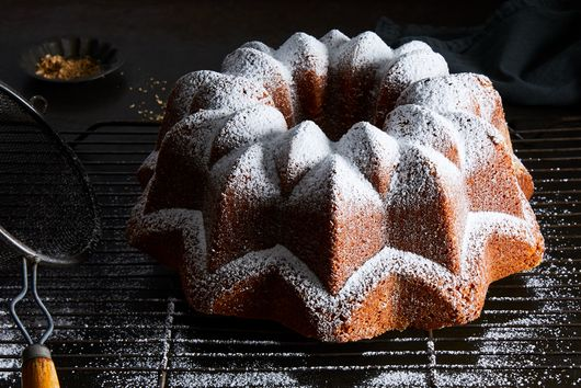 Coriander Seed Bundt Cake