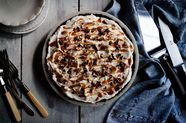 Chocolate, Cajeta, and Salted Pecan Mud Pie