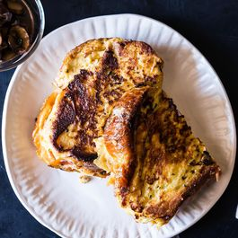 Savory Gruyère Stuffed French Toast