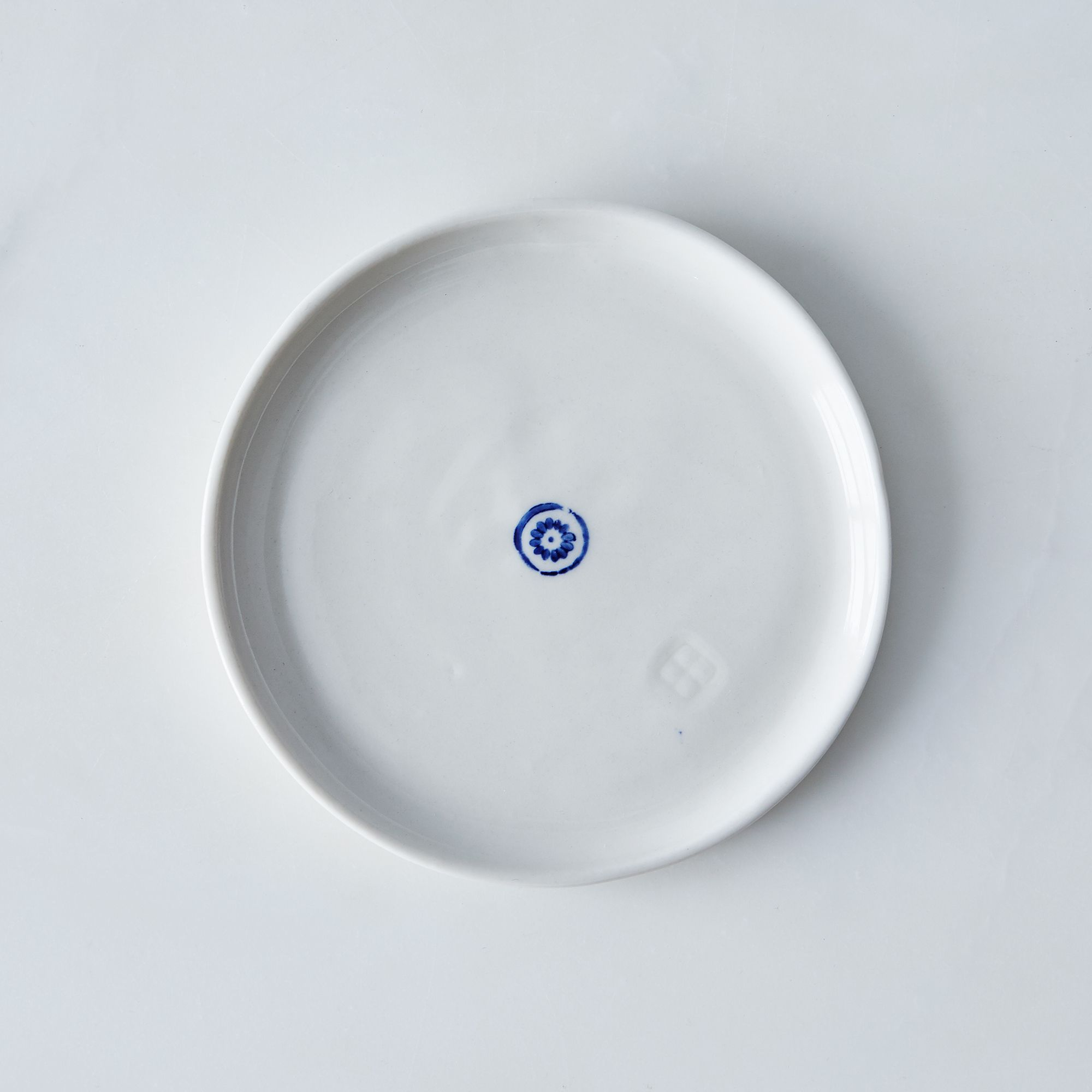 Porcelain Dessert Plates (set Of 4) Circle