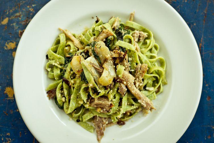 Stinging Nettle Pasta Recipe on Food52