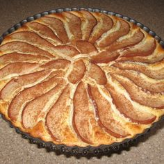 Banana, Coconut, Cheesecake Pear Tart
