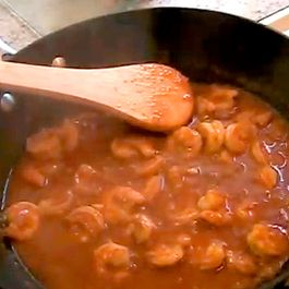 Shrimp Curry (South Indian Style)
