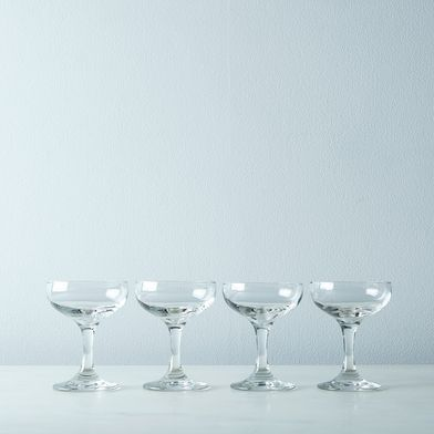 Cocktail & Champagne Coupes (Set of 4)