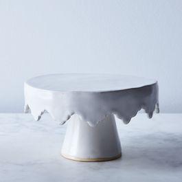 Handmade Wabi Sabi Ceramic Cake Stand