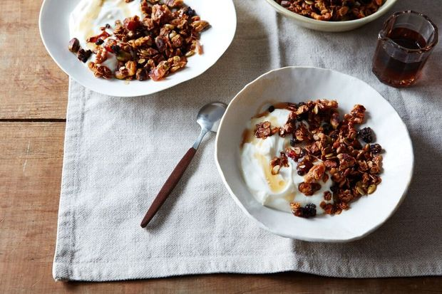 Brown Butter Granola with Honey and Sumac