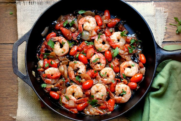 Shrimp Puttanesca