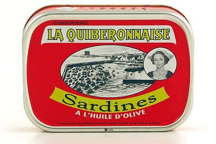 Savory Sardine Crostini