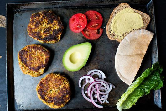 Veggie Burgers for Now and Later