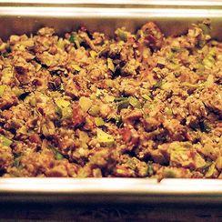 Oyster and Shiitake Mushroom Stuffing