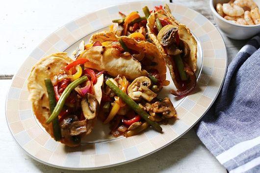 Veggie frenzy stir-fry gluten free tacos