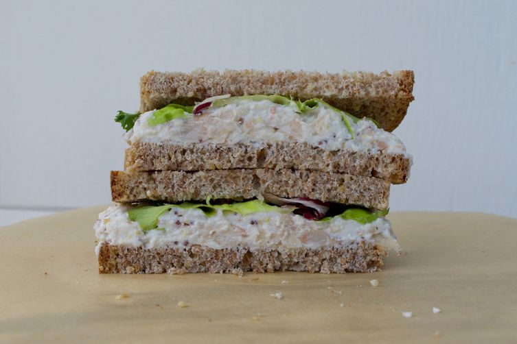White Bean and Ricotta Sandwich