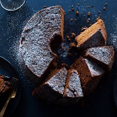 Double Chocolate Chiffon Cake