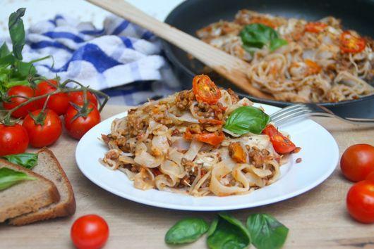 Zero Calorie Baked Pasta Bolognese
