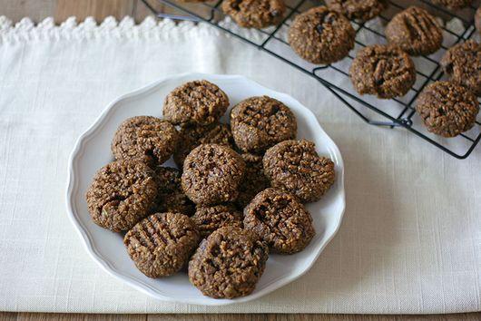 Sweet Potato, Raisin, & Pecan Cookies