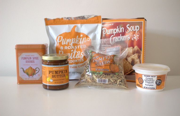 We Tried a Bunch of Trader Joe's Pumpkin Spice Products