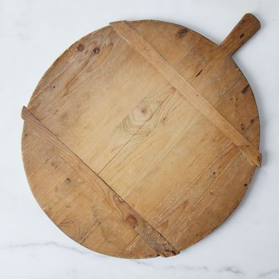 Vintage Round German Bread Board