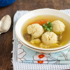 Beef Soup with Semolina Dumplings