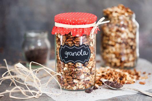 Dark Chocolate Breakfast Granola