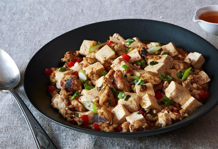 Ma Po Tofu (Stir-Fried Bean Curd with Turkey)