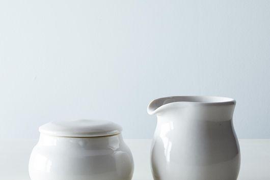 Porcelain Sugar & Creamer Set