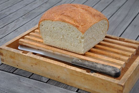 Barley and Wheat Germ Sandwich Bread