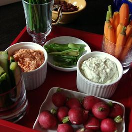 Dips and apps by Louisa Barash