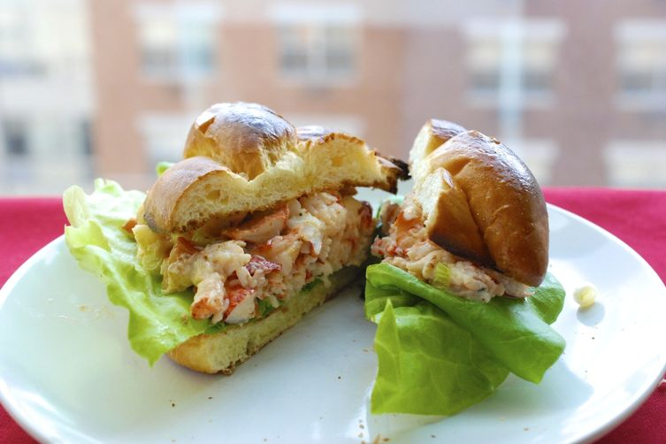 Lobster Salad Sandwiches