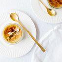Brulee, Pudding, Triffle, Meringue, Souffle