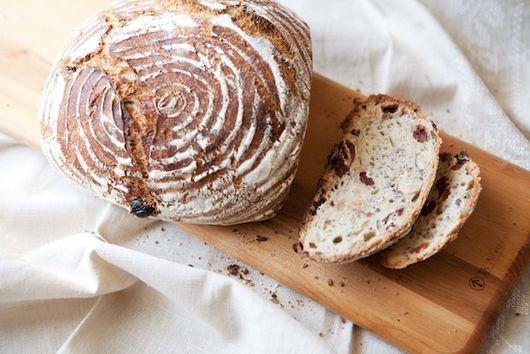 Cherry-Hazelnut Yeast Bread