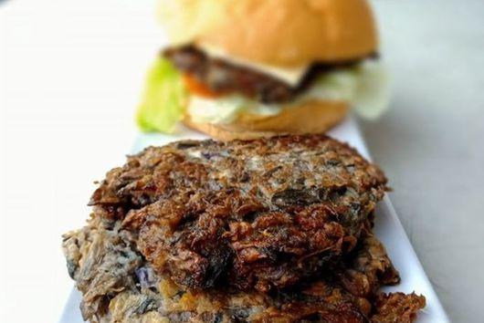 Puso ng Saging Burger Patties