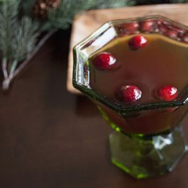 Cranberry Rob Roy
