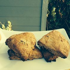Sour Cherry, Sage and Pinenut Scones