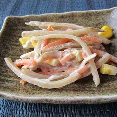 Crunchy Burdock Salad
