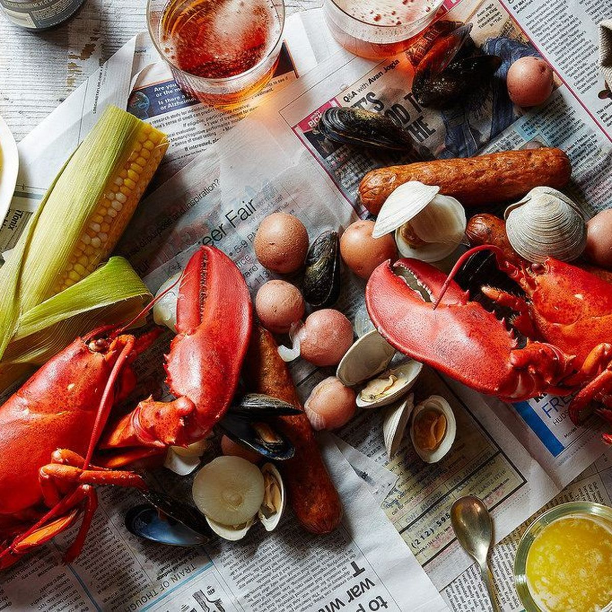 How To Throw A Lobster Boil For 10