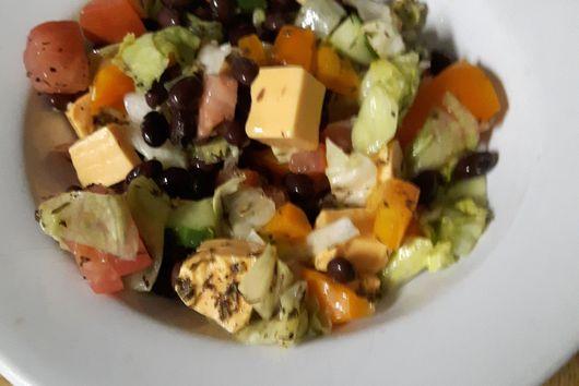 Not Sad Lunch - Nachos Salad