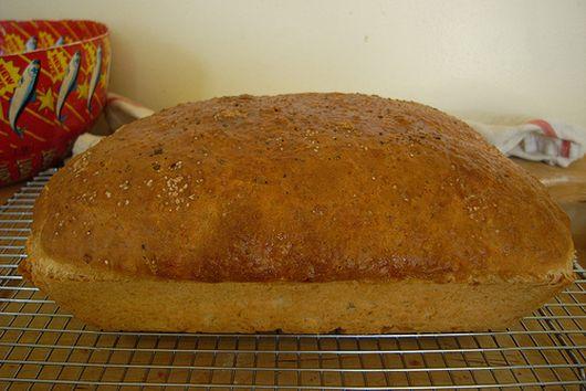 Garlic Herb Batter Bread