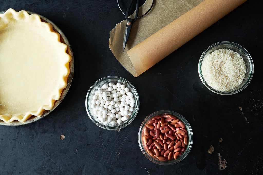 Blind Baking Pie