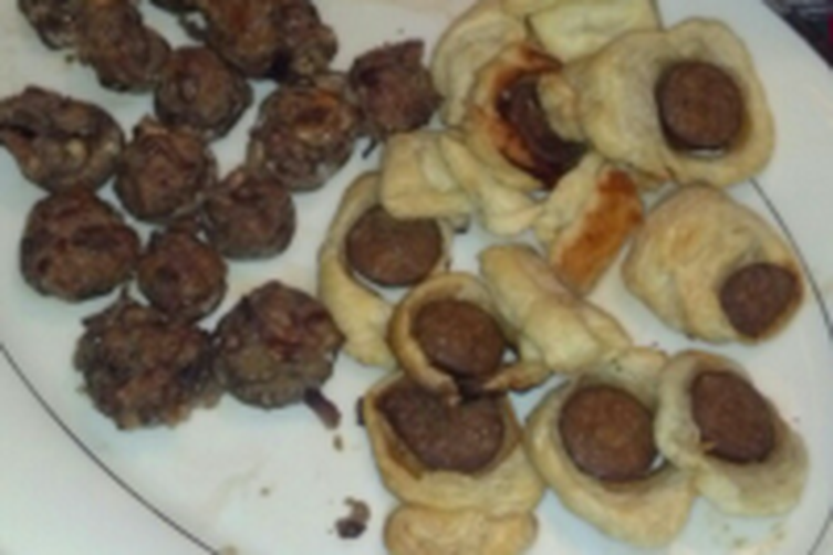 Sausage Puff Pastry Bites