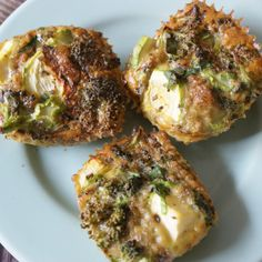 Veggie and Basil Egg Muffins