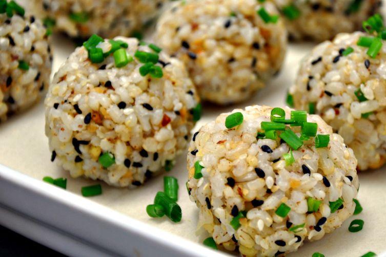 Brown Rice Sushi Balls
