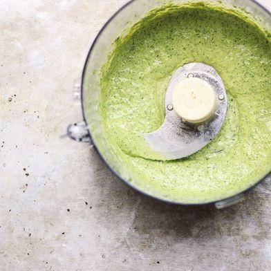 Green Goddess Basil Sauce