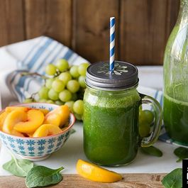 Peach Coconut Dream Green Smoothie