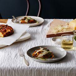 Sweet Potato & Manchego Tortilla with Coriander Mojo