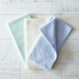 Seersucker Cloth Napkins (Set of 4)